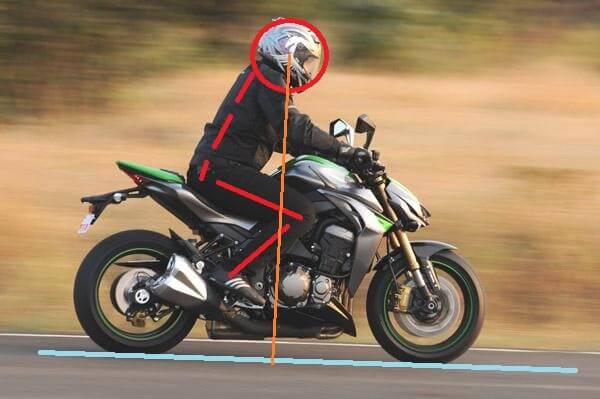 motorbike back shoulder