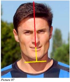Javier Zanetti simmetria