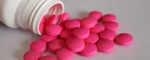 taking painkillers